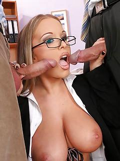 Free Huge Tits Blowjob Porn